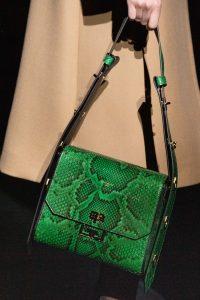 Givenchy Green Python Flap Bag - Fall 2019