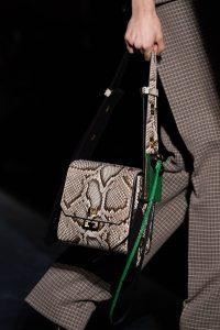 Givenchy Natural Python Flap Bag - Fall 2019
