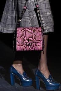 Givenchy Pink Python Flap Bag - Fall 2019