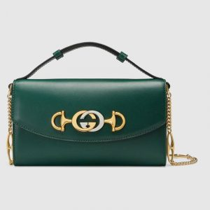 Gucci Green Zumi Mini Shoulder Bag