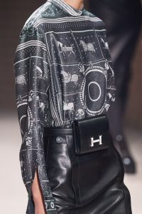 Hermes Black Constance Belt Bag 3 - Fall 2019