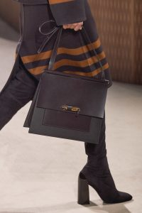 Hermes Brown/Gray Shoulder Bag - Fall 2019