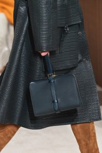 Hermes Dark Blue Top Handle Bag - Fall 2019