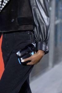 Louis Vuitton Black Python:Leather Clutch Bag - Fall 2019