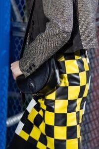 Louis Vuitton Black Saddle Bag - Fall 2019