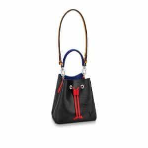 Louis Vuitton Black Safran Epi NeoNoe BB Bag