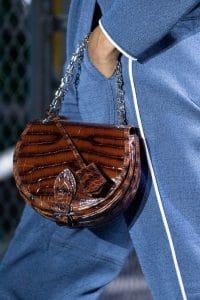Louis Vuitton Brown Crocodile Saddle Bag - Fall 2019