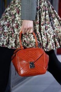 Louis Vuitton Brown Python Top Handle Bag - Fall 2019