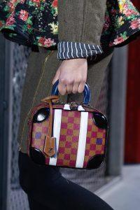 Louis Vuitton Brown/Purple Mini Luggage BB Bag - Fall 2019