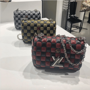 Louis Vuitton Damier Quilted Twist Bags