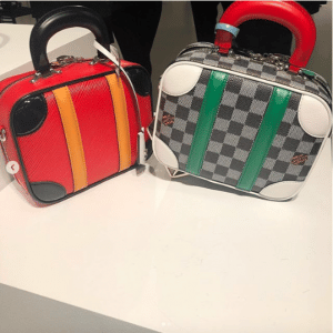 Louis Vuitton Damier and Epi Mini Luggage Bags