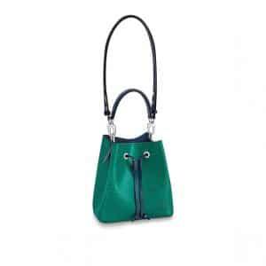 Louis Vuitton Emerald Green Indigo Epi NeoNoe BB Bag