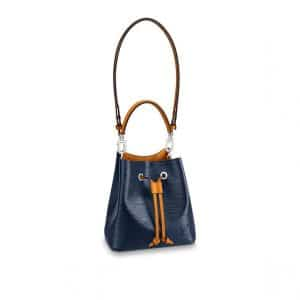 Louis Vuitton Indigo Safran Epi NeoNoe BB Bag