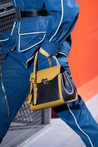 Louis Vuitton Khaki/Black Arch Top Handle Bag - Fall 2019