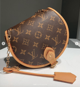 Louis Vuitton Monogram Canvas Saddle Bag