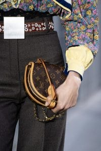 Louis Vuitton Monogram Canvas Saddle Bag - Fall 2019