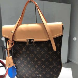 Louis Vuitton Monogram Canvas Top Handle Bag