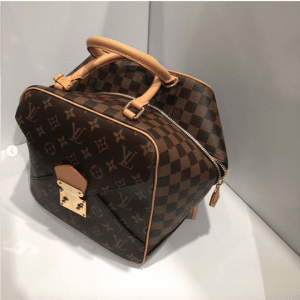 Louis Vuitton Monogram Canvas/Damier Ebene Square Bag