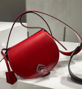 Louis Vuitton Red Saddle Bag