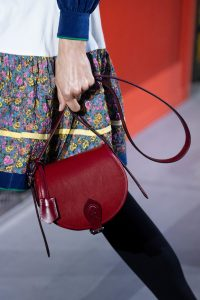 Louis Vuitton Red Saddle Bag - Fall 2019