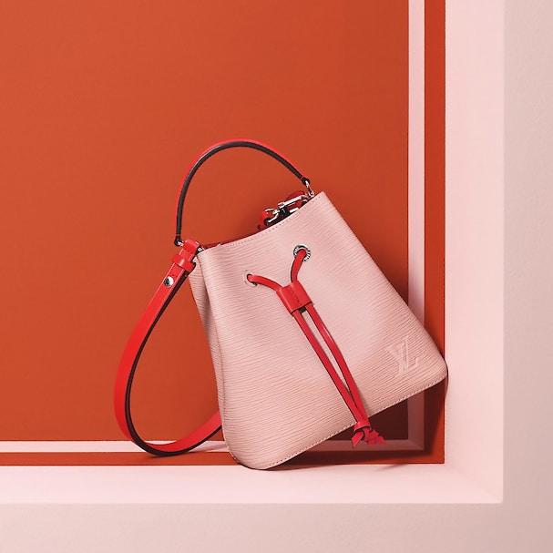 Louis Vuitton Rose Ballerine Epi NeoNoe BB Bag 1