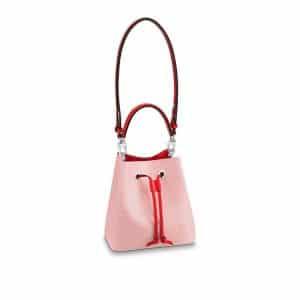 Louis Vuitton Rose Ballerine Epi NeoNoe BB Bag