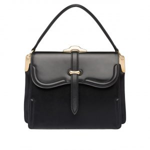 Prada Black Belle Top Handle Bag