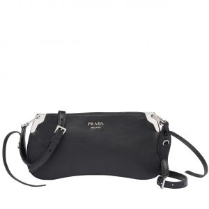 Prada Black Sidonie Small Shoulder Bag