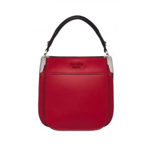 Prada Red Margit Small Bag