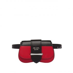 Prada Red Sidonie Belt Bag