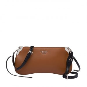 Prada Tan Sidonie Small Shoulder Bag