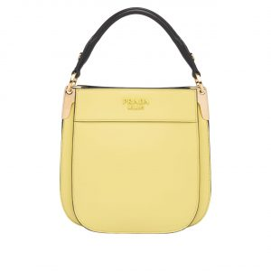 Prada Yellow Margit Small Bag