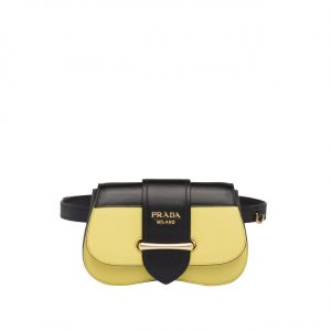 Prada Yellow Sidonie Belt Bag