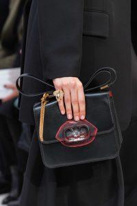 Valentino Black V-Ring Flap Bag 4 - Fall 2019
