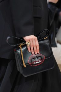 Valentino Black V-Ring Flap Bag 5 - Fall 2019