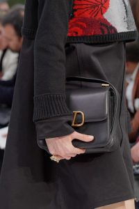 Valentino Black V-Ring Flap Bag 6 - Fall 2019