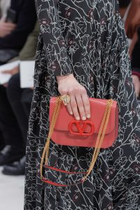 Valentino Coral V-Ring Flap Bag 2 - Fall 2019