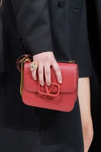 Valentino Coral V-Ring Flap Bag - Fall 2019