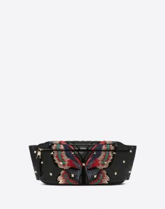 Valentino Multicolor Butterfly Boomstud Belt Bag