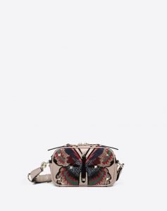 Valentino Multicolor Butterfly Boomstud Crossbody Bag