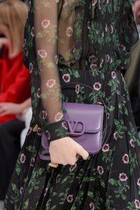 Valentino Purple V-Ring Flap Bag - Fall 2019