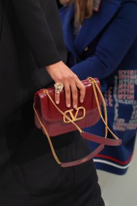 Valentino Red V-Ring Flap Bag 2 - Fall 2019