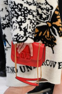 Valentino Red V-Ring Flap Bag 3 - Fall 2019