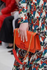 Valentino Red V-Ring Flap Bag 4 - Fall 2019