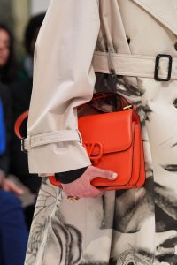 Valentino Red V-Ring Flap Bag - Fall 2019