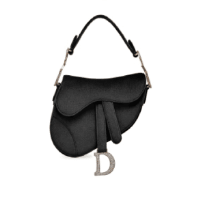 Dior Black Saddle Bag