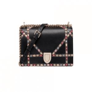 Dior Black/Multicolor Diorama Bag