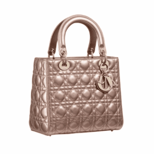 Dior Gold Lady Dior Bag