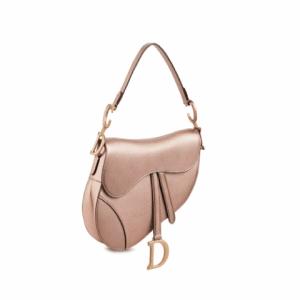 Dior Gold Saddle Bag