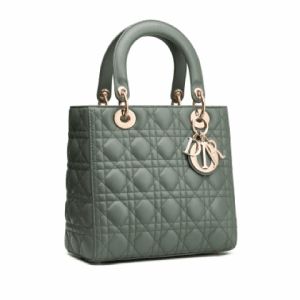 Dior Gray Lady Dior Bag